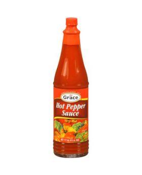 Grace  Hot Pepper Sauce 6pk/6oz.