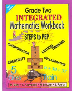 Grade Two Integrated Mathematics Workbook Steps to PEP By M.Miles Et al