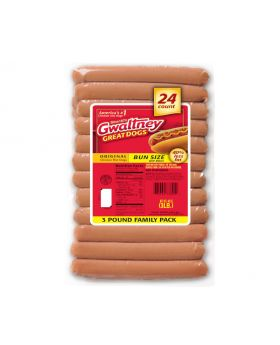 Gwaltney Chicken Hotdog 3lb