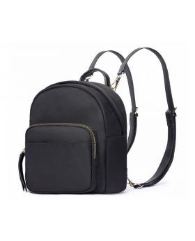 HaloVa Women's Backpack Mini Shoulder Bag Black
