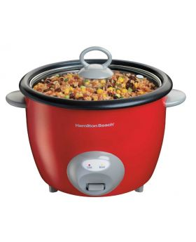 Hamilton Beach 1137538N 20 Cup Rice Cooker Red