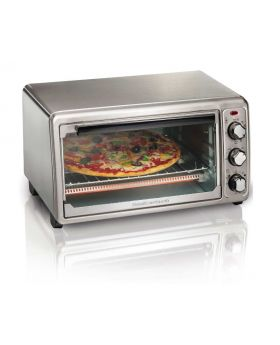 Hamilton Beach 314116 Slices Stainless Steel Exterior Toaster Oven