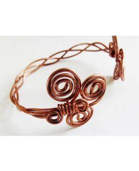 Healing Copper Bracelet Closeup