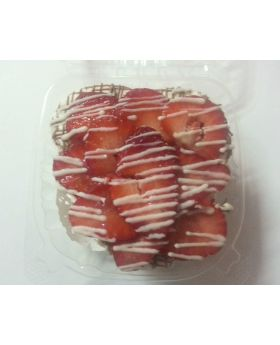 Hearts On Fire Cheesecake With Strawberries