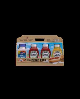 Heinz & Kraft Picnic 4 Pack