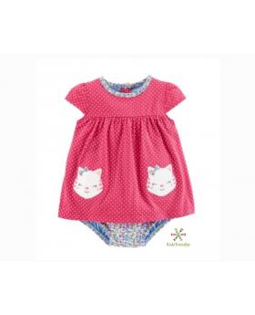 Hello Kitty Dress & Diaper Cover Set