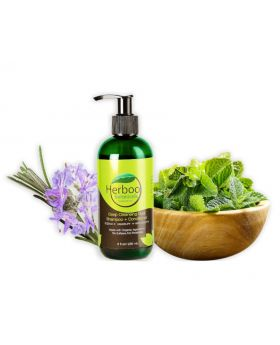 Herboo Botanicals' Deep Cleansing Dual Shampoo+Conditioner  236ML