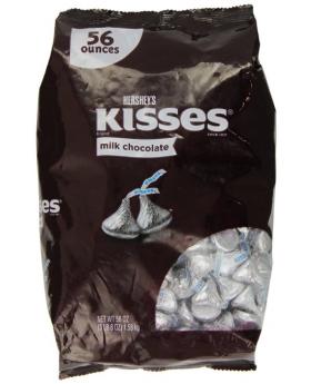 Hershey's Chocolate Kisses 56 oz
