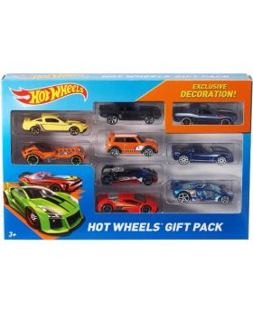Hot Wheels 9-Car Gift Pack [Styles May Vary]