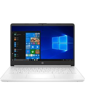"HP 14"" Intel Celeron 4 GB RAM 64 GB eMMC Memory Snowflake White Laptop"