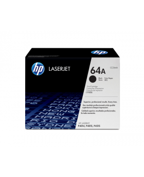 HP 64A Black Original Toner Cartridge (CC364A) in Box
