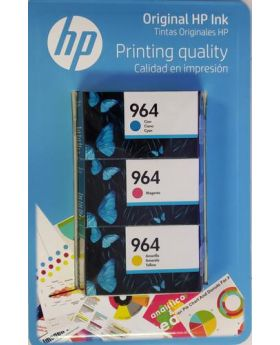 HP 964 Tri-Color Ink Cartridge 3 Pack