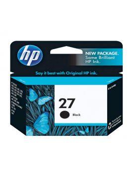 HP 27 Black Inkjet Print Cartridge (10 ml)
