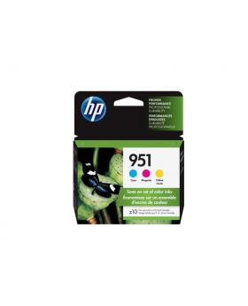 HP 951 Cyan/Magenta/Yellow Original Ink Cartridges