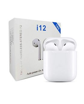 i12 tws original bluetooth 5.0 earbuds