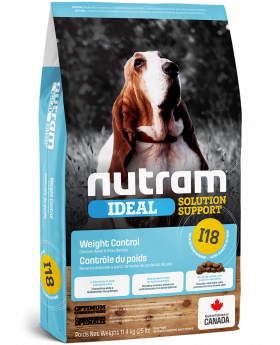 I18 Nutram Ideal Solution Support Weight Control Dog Food 2kg