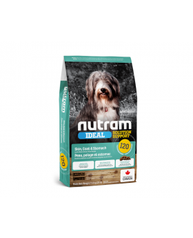 I20 Nutram 13.6kg Ideal Solution Support Sensitive Skin Coat & Stomach Natural Dog Food