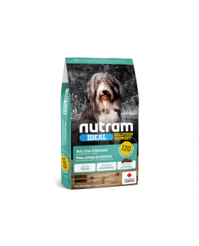 I20 Nutram Ideal Solution Support Sensitive Skin Coat & Stomach Natural Dog Food
