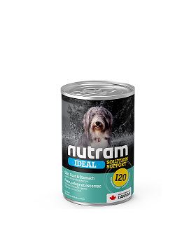 I20 Nutram Sensitive Skin, Coat & Stomach Canned Food Case of 12
