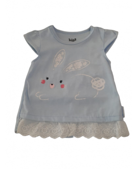 Girl's Top Bunny Rabbit 6M