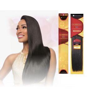"Sensationnel Goddess Remy weaving extension hair 1B / 14"""