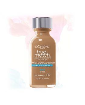 L'Oreal Paris Makeup True Match Liquid Foundation-C7