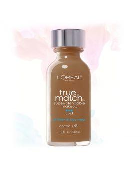 L'Oreal Paris Makeup True Match Liquid Foundation-C8