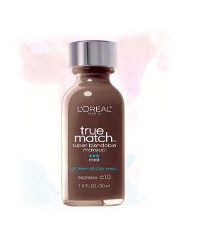 L'Oreal Paris Makeup True Match Liquid Foundation-C10
