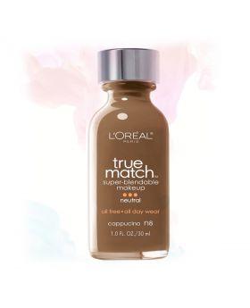 L'Oreal Paris Makeup True Match Liquid Foundation-N7