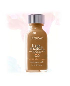 L'Oreal Paris Makeup True Match Liquid Foundation-N8