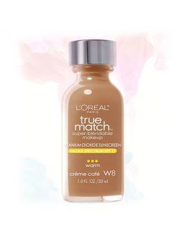 L'Oreal Paris Makeup True Match Liquid Foundation-W8