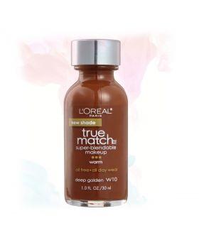 L'Oreal Paris Makeup True Match Liquid Foundation-W10