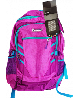 Durable 3 Zipper Backpack