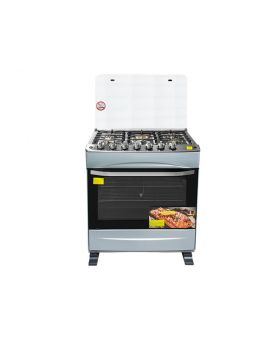 "Imperial IMP20GS-AMB-30S-STAR 30"" 5 Burner Gas Stove with Steel Top Rotisserie & Self-Light"