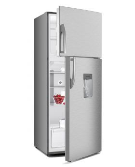 Imperial IMP21-INV-MEGA STAR-FR-WD 21 Cu. Ft. No Frost Stainless Steel Inverter Refrigerator with Water Dispenser