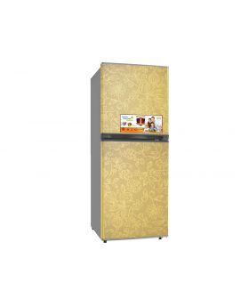 Imperial IMP9HALF&HALF-F-GF 9 Cu. Ft. Fridge and Freezer Gold Refrigerator