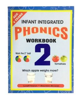 Infant Integrated Phonics Workbook 2 by M. McLean and L. Fearon