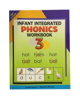 Infant Integrated Phonics Workbook 3 Age 5 Years Old by Lunett Fearon & Maureen McLean