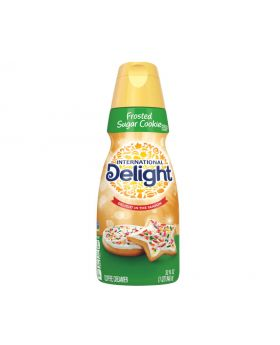 Int'l Delight Frosted Sugar Cookie Coffee Creamer 32 Fl.Oz