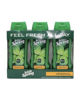 Irish Spring Body Wash for Men Original 18 Fl. Oz. 3 Pack