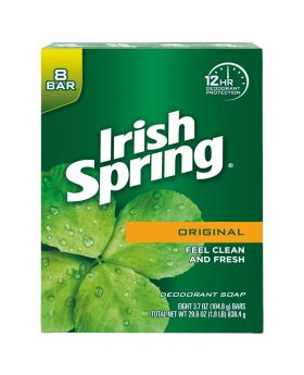 Irish Spring Original bar soap 8 pack 4 oz bars
