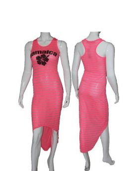 Jamaican Hi - Low Dress
