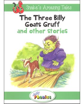 Jolly Phonics Reader: Snake's Amazing Tales: Three Billy Goat's Gruff an Other Stories Level 3