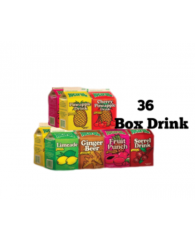 Juciful Box Drink 450ml x 36 Variety Pack