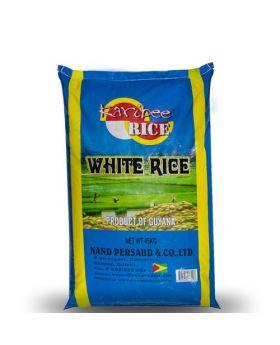 Karibee White Rice 45 kg