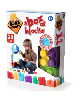 Kids at Work 24-Piece Block Set