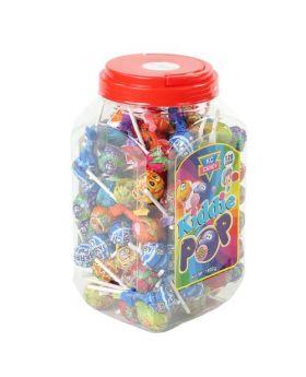 KC Candy Kiddie Pop 120 Count 1800g