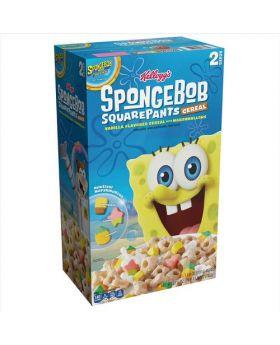Kellogg's Sponge Bob Square Pants Cereal 27.6 Oz.