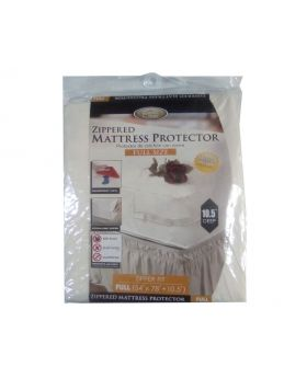 Kennedy's Home Collection Full Size Zippered Mattress Protector