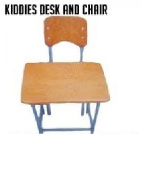 Kiddies Desk and Chair Combo (3)